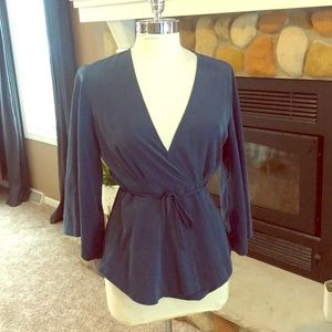 Free People wrap Blouse, small